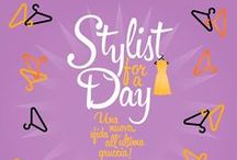 """Diffusione Tessile - Concorso """"Stylist for a Day"""" 2014 / Stylist for a Day sta per tornare con nuove e imperdibili sfide all'ultima gruccia!  Continua a seguirci per scoprire tutte le novità…"""