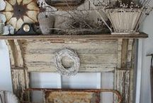 Inspire Fireplace / I'm always on the look out for inspiring ideas for my fireplace mantel.