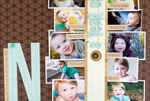 Scrappy / Scrapbooking ideas, layouts, tools, storage. How to's.  / by Katelyn L