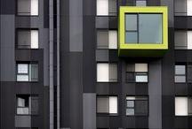 24. Facade / Architectural facades of beautiful buildings