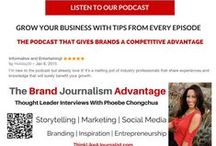 #TBJApodcast Interviews on Business, Marketing, Social Media, PR & Entrepreneurship / Weekly interviews with thought leaders to help you grow personally and professionally. Think Like A Journalist and use powerful storytelling to grow your audience and brand.  See all podcasts at http://bit.ly/TBJA-podcast