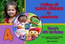 Mary Ella's 3rd Birthday / Super Why party / by Amber Lattuca