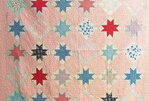 Star quilts / Pretty star quilts - who doesn't love them!