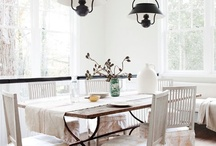 dining rooms, breakfast nooks /   / by Penny Houle