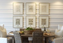 wall coverings and treatments,  / paint, wallpaper, specialty finishes, stencils, board & batten, wainscoting,  lime wash, plaster, stucco, wood, paneling