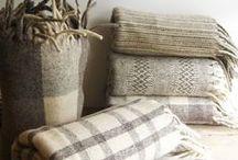 Linens/Pillows/Drapes / by Maggie Carlson Mantovani