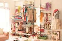 closet storage and display with style