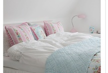 Pictures from our bedroom / Here are the some pictures from our bedroom that is furnished bright and lovely with pastels