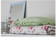 Living room / Here you can see some pictures of our rooms are decorated with lovely colors and lots of Greengate