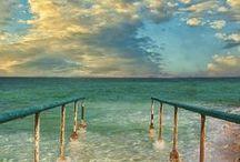 oceans, beaches and mermaids