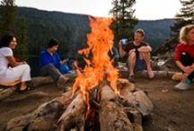 Backpacking Fireside