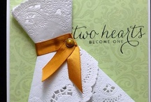 Cards - Weddings / Love / Cards about love e.g. Wedding, Anniversary, Valentines Day / by Rhonda Dixon