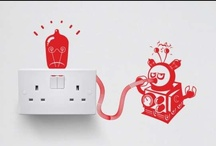 Unique Wall Decals / Check out these unique wall decals and sticker designs from TrendHunter.com / by TrendHunter.com
