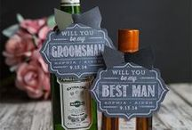 Groom & GROOMSMEN / Ideas for the Groom and his Groomsmen from gifts to fashion!