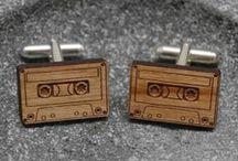 Novelty Cufflinks / The best decorative cuff accessories from TrendHunter.com