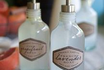 DIY: Homemade Products / household cleaners, beauty & wellness products / by Penny Houle