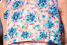 flower polkadot dress / Dress❤️