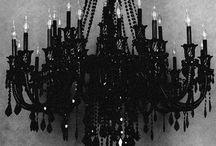 GOTHIC home / Dark, eerie, ornate and beautifully crafted Gothic home furnishings.