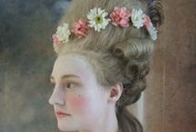 18th Century Makeup Hair Rococo or Inspired Pictures