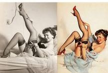 ROCKABILLY & PINUPS / For lovers of Pinup and Rockabilly girls.