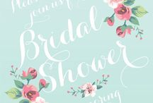 Bridal Shower / Bridal shower and bachelorette party ideas / by Britt Leigh