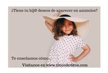 Niños en publicidad / Niños de anuncios, niños en publicidad. http://www.naiagarciacarter.com/