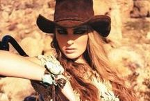 Western Fashion / The Best Western Fashion Trends from TrendHunter.com / by TrendHunter.com