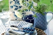 Blue & White / indigo, navy, cobalt, chinoiserie,  / by Penny Houle