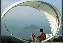 Relaxing Outdoor Furniture / These relaxing outdoor furniture trends from TrendHunter.com include the best hammocks, summer patio furniture and other designs for making the most of the sun / by TrendHunter.com