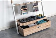 Creative Storage Ideas / Short on space? These creative storage ideas from TrendHunter.com help to maximize the potential of any room with shelves, and standing units storage furniture
