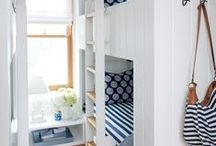 built-in beds, bunk rooms / by Penny Houle
