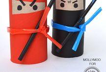 Useful kids crafts / by Christi McClure