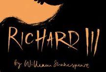 """Copertine Riccardo III / Materiale illustrativo d'ispirazione per la locandina ufficiale """"La Tragedia di Riccardo"""""""