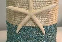 Beachy Crafts & ideas / by Michelle Paige