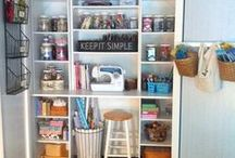 Craft Room Inspiration / by Michelle Paige