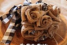 DECOR IDEAS - BURLAP / by Shannon Winters