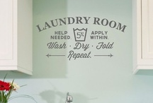 for the home: laundry / インテリア:ランドリー / by Johanna MacGregor