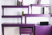 Purple Living / Find inspiration for your residence hall room or apartment with these purple accents. (Note: Pinning does not signify an endorsement by YHC.) / by Young Harris