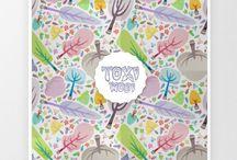 My Pattern design / My parttern Design. By toximosi