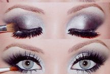 Make-Up and Beauty / Make-up, beauty, makeup tutorial, how to apply makeup, how to create an eye look, mascara, blush, cosmetics,