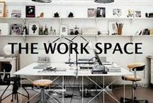 the work space / spaces to work and create in