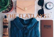 the flatlays