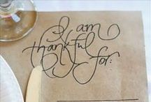 thanksgiving. / Thanksgiving DIY ideas, holiday crafts, printables and more