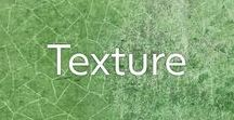 Inspired By: Texture / Beautiful textures making inspirational colour palettes.