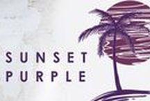 Collectie Sunset purple