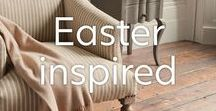 Easter Interior / We're all about neutral and earthy tones this Easter and we're loving these designs that have a rustic yet elegant style. We're celebrating the early days of Spring, and, of course, Easter dinner with some of our favourite Modern Country and classic designs.