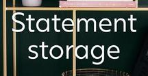 Storage Ideas / Introducing practical and beautiful storage, from large shelving units to storage boxes for small spaces. These are some our favourite storage solutions that don't comprise on style and will make staying tidy seem irresistible.
