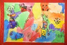 Kinder-1st lesson ideas / by Devon Inglee