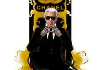 Chanel-Lagerfeld / by Sue Heiss