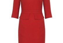 Accessorising a Red Winter Dress